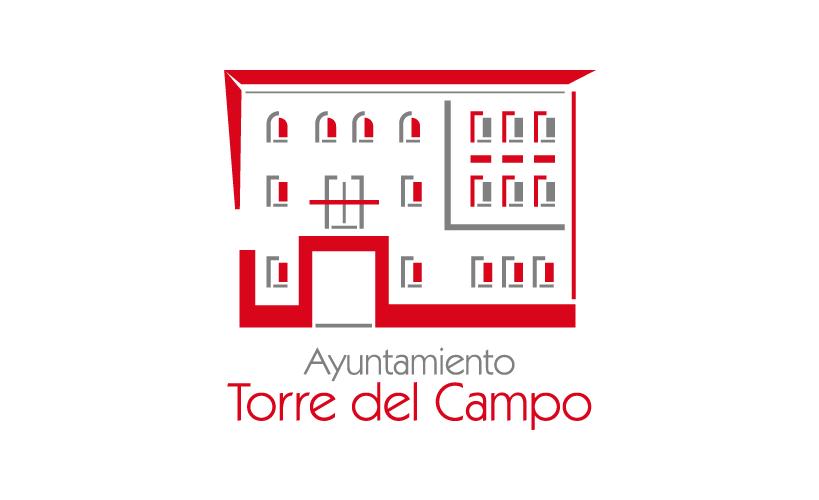 Diseño de identidad corporativa institucional para el Ayuntamiento de Torredelcampo. El resultado es un logotipo más actual con gran contraste de color