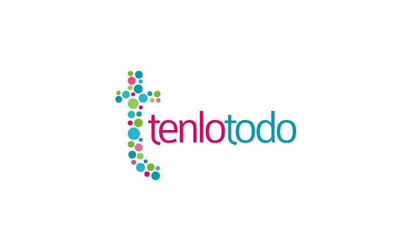 Diseño de identidad corporativa de Tenlotodo: tienda online de regalos, perfumes y cosméticos originales